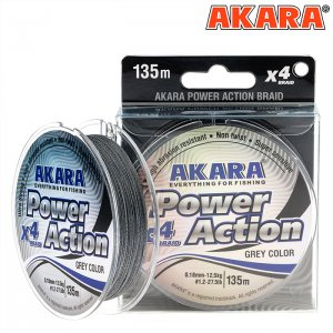 Плетёный шнур Akara Power Action (135м)
