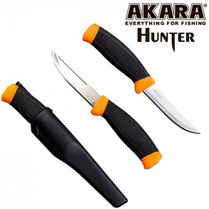 Нож рыболовный Akara Stainless Steel Hunter