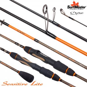 Спиннинг Surf Master Сhokai Series Sensitive Light UL (0,8-7 гр)