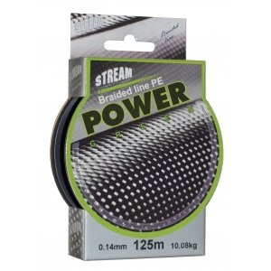 Плетёный шнур Stream Braided Line Pe Power Green
