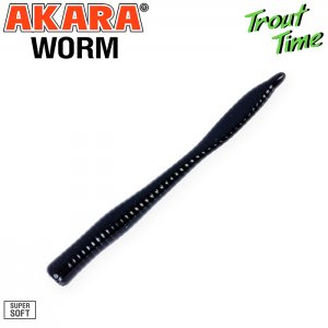 Силиконовая приманка Akara Trout Time WORM